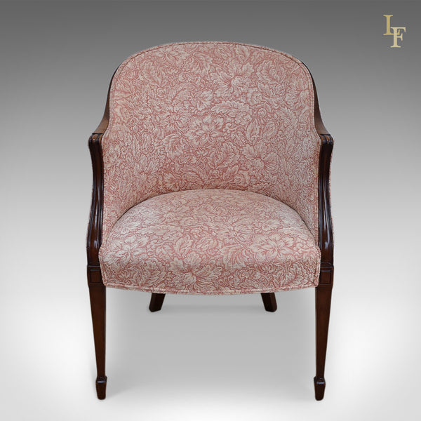Antique Howard & Sons Chair, Armchair - London Fine Antiques