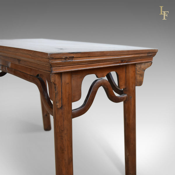 Antique Chinese Wine Table, 19th Century Qing Dynasty in Ming Taste - London Fine Antiques