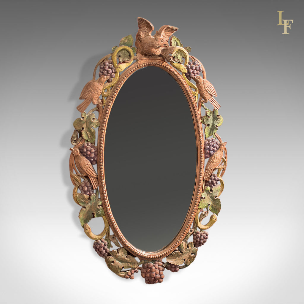 Early to mid 20th Century Carved Wall Mirror, Anglo Indian - London Fine Antiques