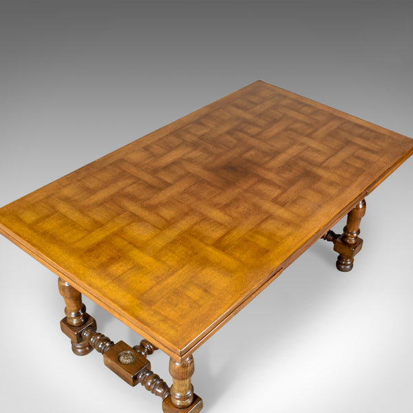 Extending Dining Table, 8 - 10 Seater, Mahogany, French Circa 1920