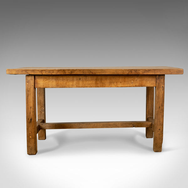 French Antique Charcuterie Table, 19th Century, Oak, Country Kitchen Circa 1890 - London Fine Antiques