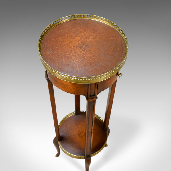 French Plant Stand in the 19th Century Taste, Mahogany Brass Ormolu Late C20th - London Fine Antiques