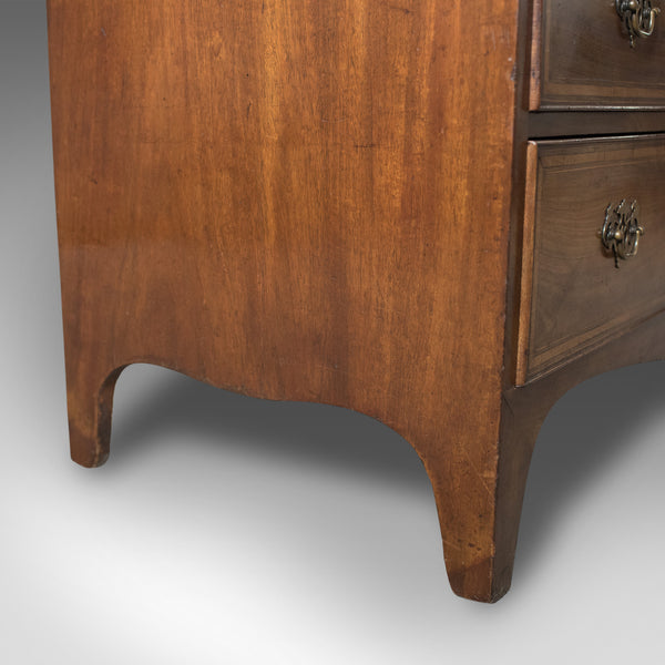 Georgian Antique Bureau, English 18th Century Mahogany Desk c.1780