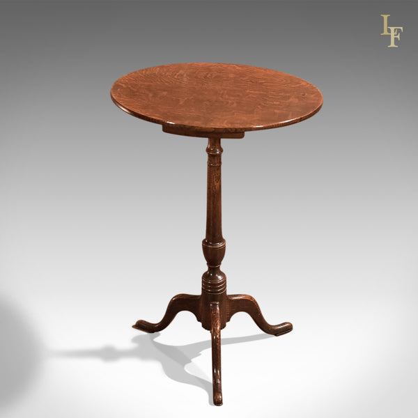 Georgian Antique Wine Table in Oak, c1800 - London Fine Antiques
