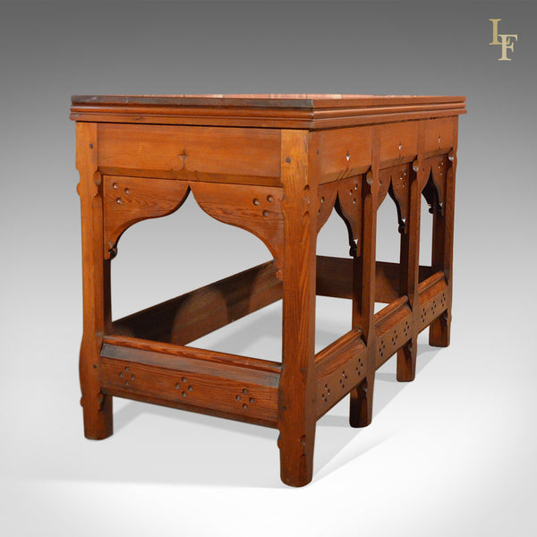 Arts and Crafts Antique Serving Table, c.1880 - London Fine Antiques