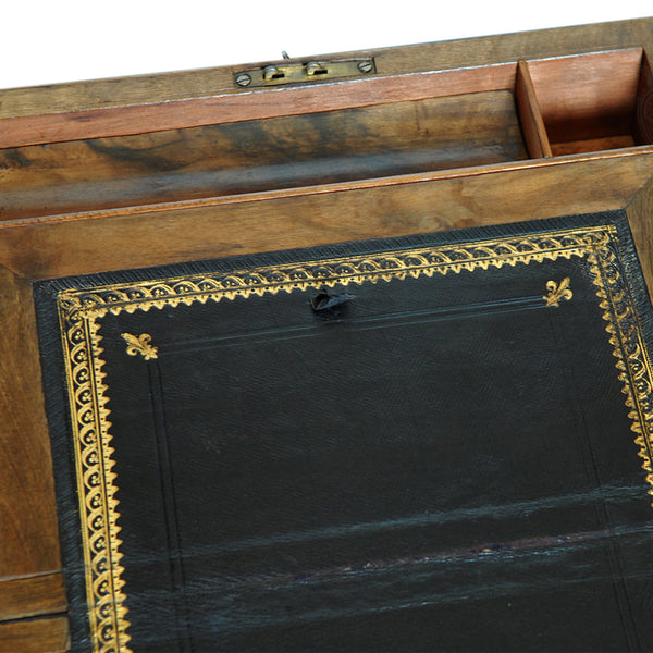 Late Georgian Antique Writing Slope - London Fine Antiques