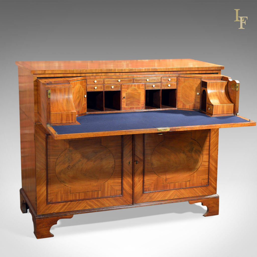 Antique Secretaire Georgian Writing Desk, c.1780 - London Fine Antiques