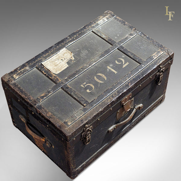 Swiss Military Officer's Trunk, Early 20th Century - London Fine Antiques
