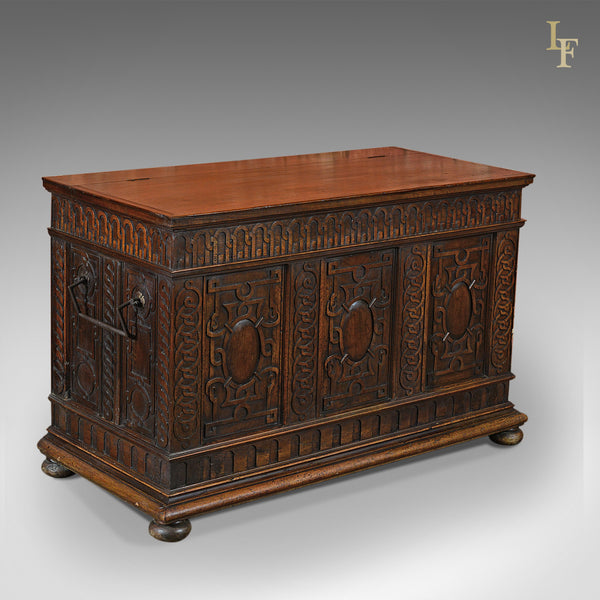 Antique Coffer, French Walnut c.1800 - London Fine Antiques