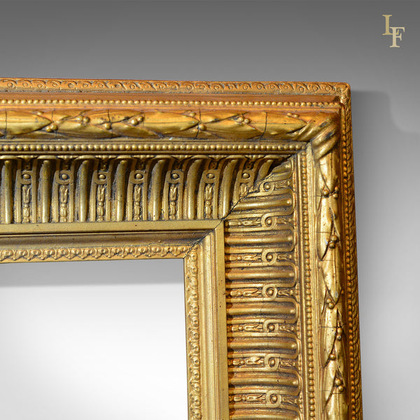Victorian Wood and Gilt Picture Frame, c.1880 - London Fine Antiques