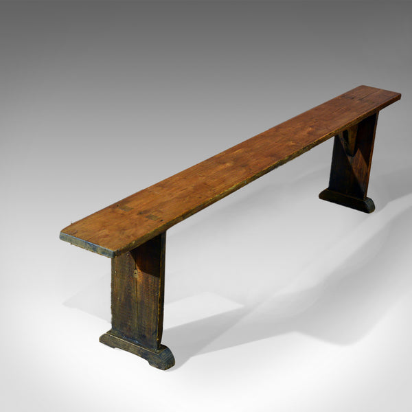 Antique Bench, Victorian, Pine c.1900 - London Fine Antiques