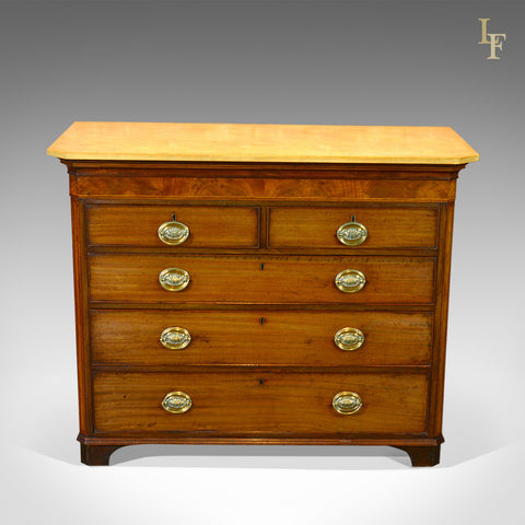 Antique Chest of Drawers, Georgian Commode c.1780 - London Fine Antiques