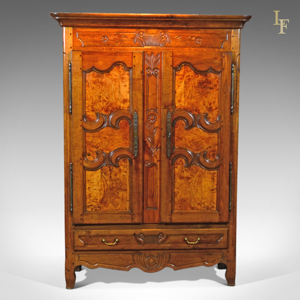 19th Century French Antique Armoire - London Fine Antiques