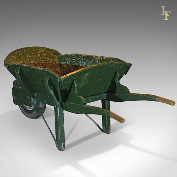 Victorian Garden Antique Wheelbarrow, Planter