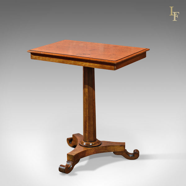 Antique Side Table, Regency Walnut c.1830 - London Fine Antiques