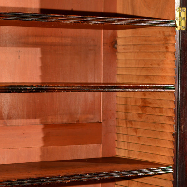 Georgian Bureau Bookcase, c.1800 - London Fine Antiques - 3