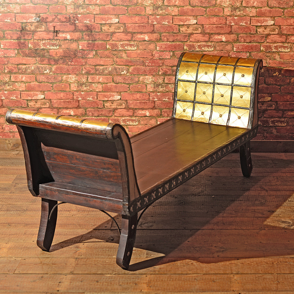 Antique North African Day Bed - London Fine Antiques