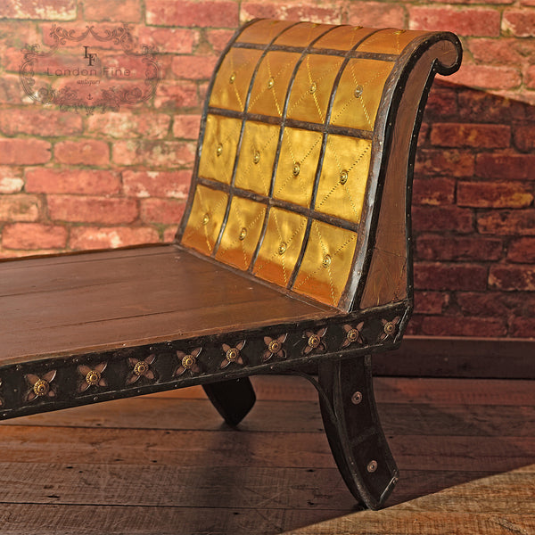 Antique North African Day Bed - London Fine Antiques - 3