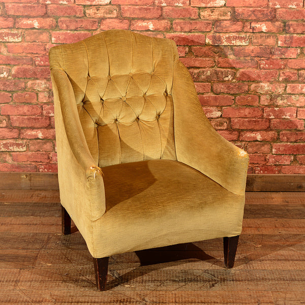 Edwardian Button Back Easy Chair, c.1910 - London Fine Antiques - 7