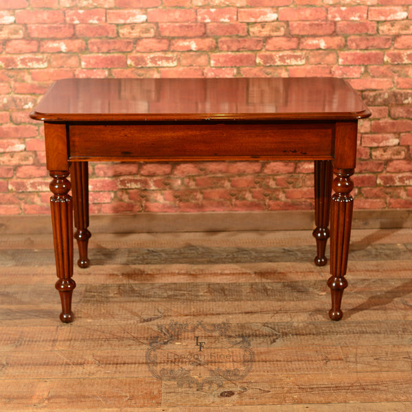 Victorian Mahogany Writing Table, c.1870 - London Fine Antiques - 6