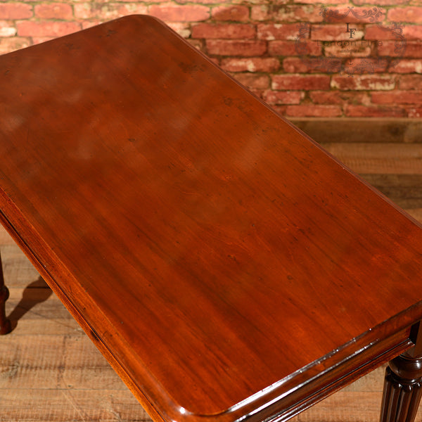 Victorian Mahogany Writing Table, c.1870 - London Fine Antiques - 7