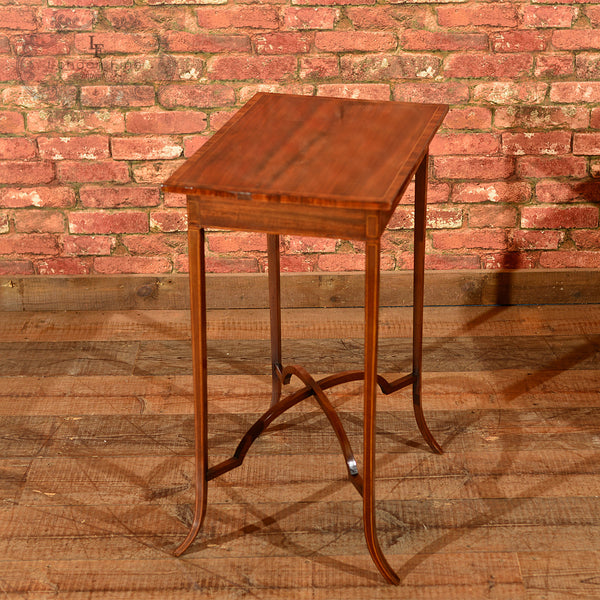Edwardian Mahogany Side Table, c.1910 - London Fine Antiques - 3