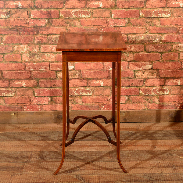 Edwardian Mahogany Side Table, c.1910 - London Fine Antiques