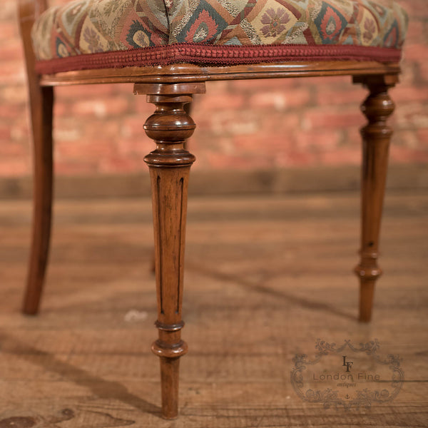 Set of 6 Antique Dining Chairs, Aesthetic Movement - London Fine Antiques