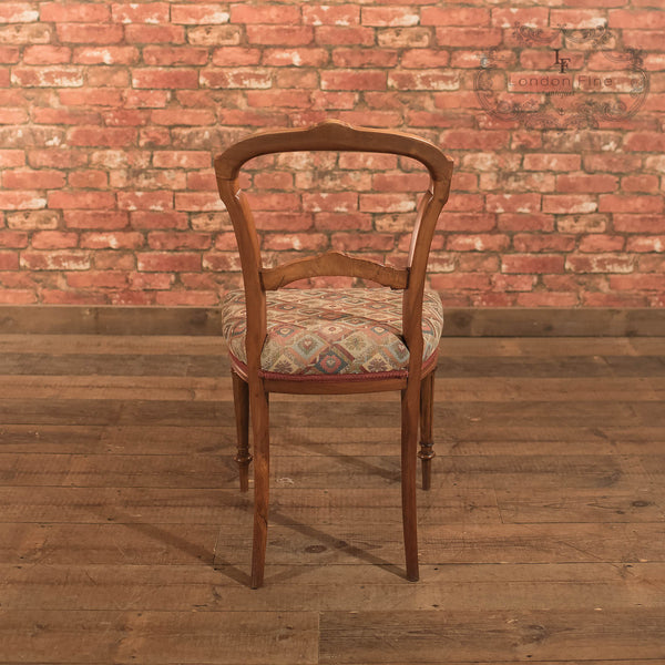 Chairs & Seating-Set of 6 Antique Dining Chairs, Aesthetic Movement - 6