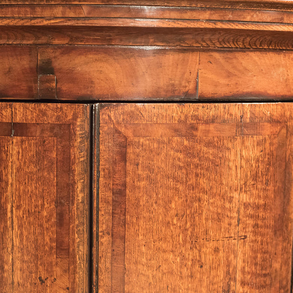 Antique Corner Cabinet, Georgian Hanging Cupboard c1780 - London Fine Antiques