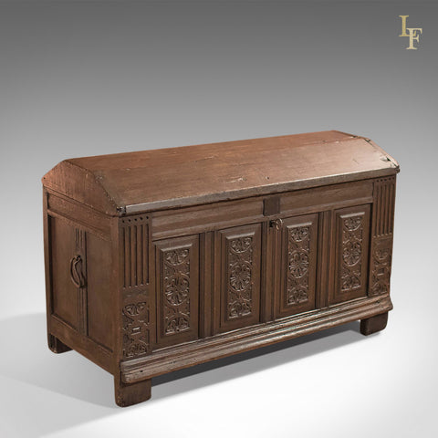 Antique Chest, Ships Trunk c.1700 - London Fine Antiques