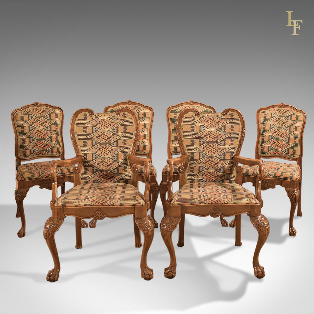 Antique Dining Chairs, French Set Of Six C19th   London Fine Antiques