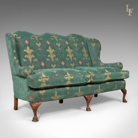 Antique Wing Back Sofa - London Fine Antiques