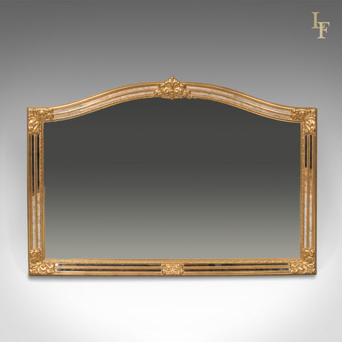 Classical Revival Wall Mirror, 21st Century Overmantel