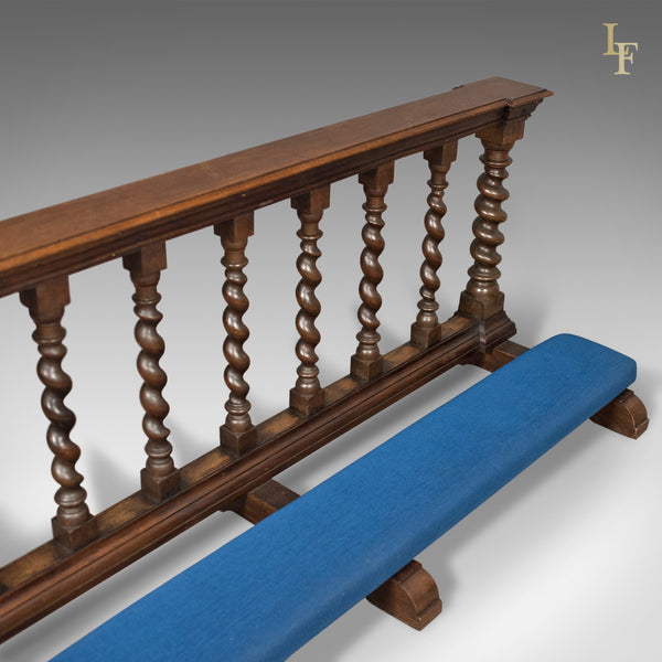 Victorian Antique Communion Rail in English Oak, Ecclesiastical c.1900 - London Fine Antiques