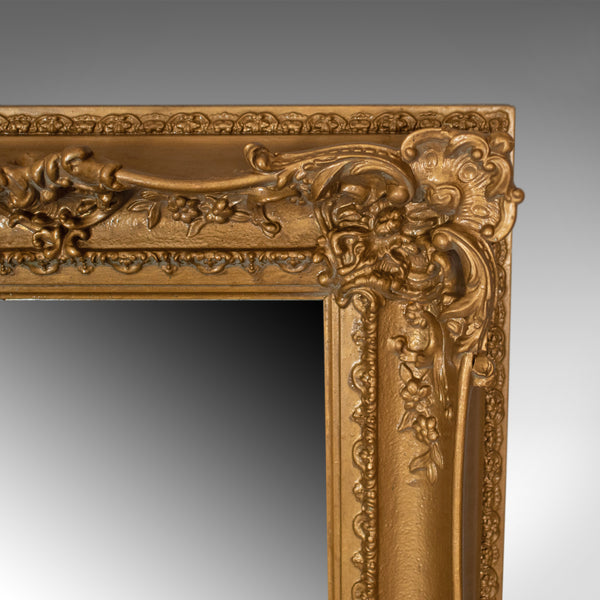 Large Antique Mirror, Tall, Victorian, Gilt Gesso, Dressing, 19th Century c.1850 - London Fine Antiques
