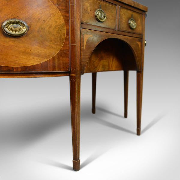 Large Antique Sideboard, English, Late Georgian, Server, Mahogany, Circa 1800 - London Fine Antiques