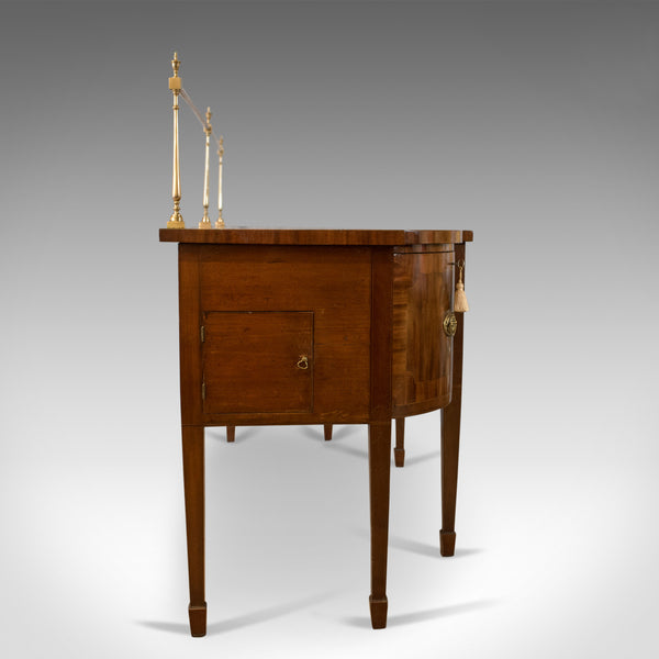 Large Antique Sideboard, English Regency, Server, Mahogany, Sheraton Circa 1820