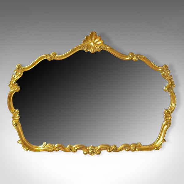 Large, Vintage Wall Mirror, Rococo Revival Manner, English, Late 20th Century - London Fine Antiques