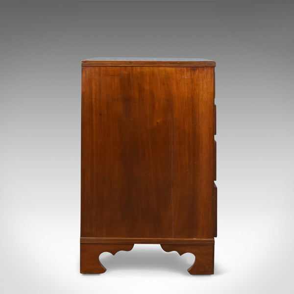 Mahogany Chest of Drawers, English, Georgian, Revival, Mid 20th Century