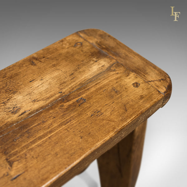 Mid Century Pine Bench - London Fine Antiques