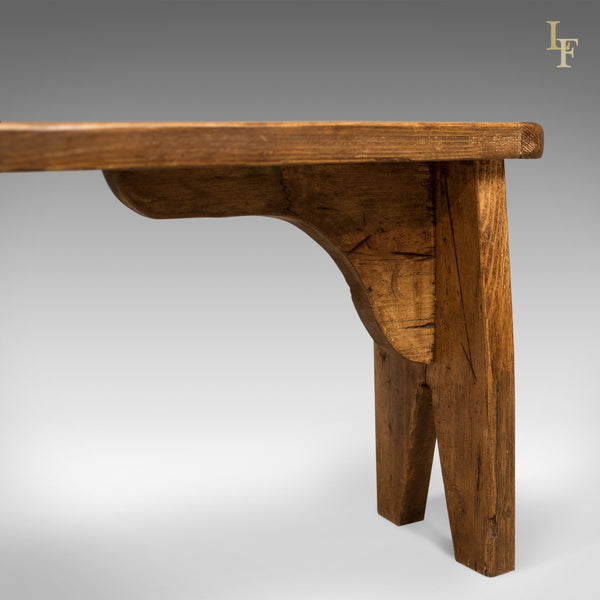 Pine Bench – Mid Century - London Fine Antiques