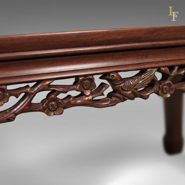 Mid-Century Chinese Rosewood Coffee Table, Traditional Form - London Fine Antiques