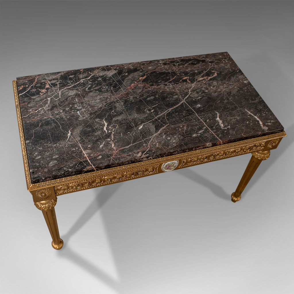 Marble Coffee Table Ebay Uk: Mid-Century Coffee Table, French Gilt And Marble Circa