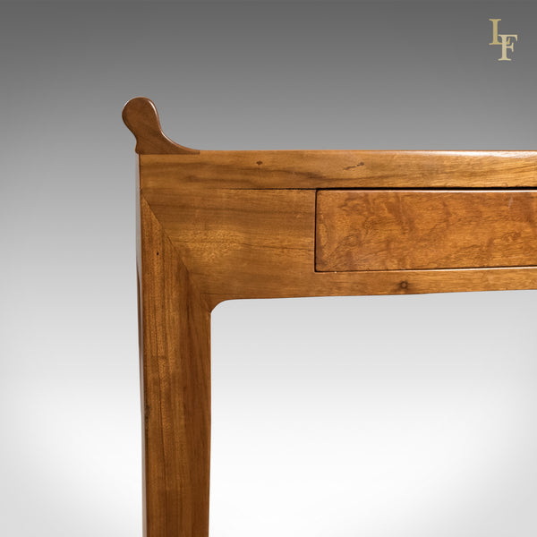 Mid Century Hall Console Table, Oriental Alter Table in Cherry - London Fine Antiques