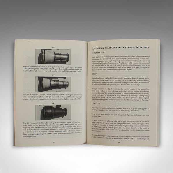 Old Telescopes by Reginald J. Cheetham, Scientific Instrument Book December 1997 - London Fine Antiques