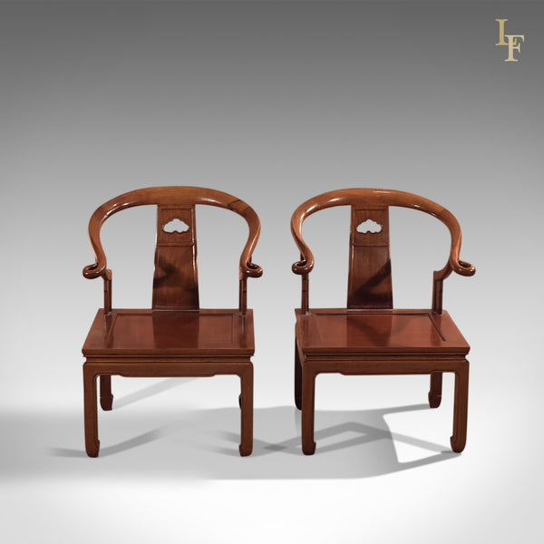 Pair of Chinese Chairs, Mid Century George Zee & Co - London Fine Antiques