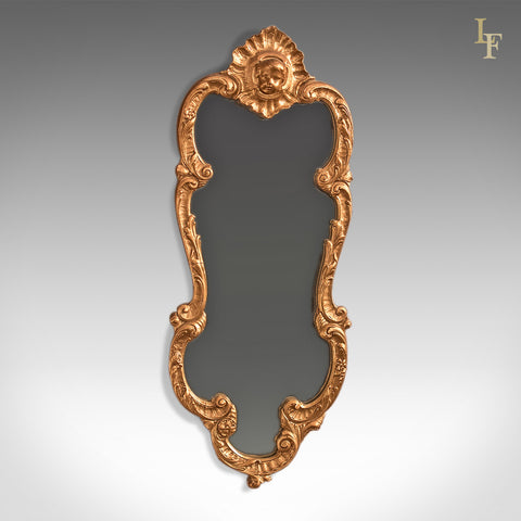 Period Giltwood Wall Mirror, Early 20th Century - London Fine Antiques