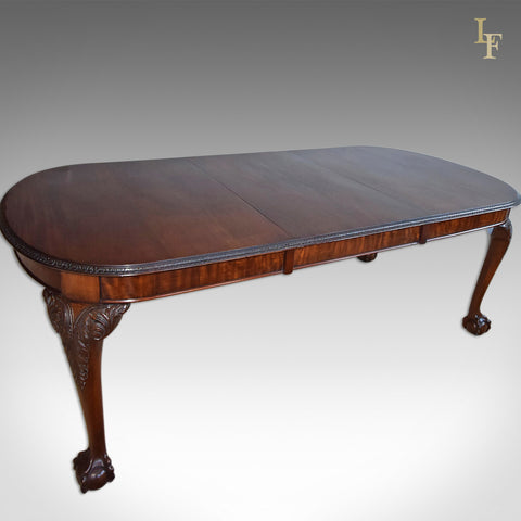 Antique Dining Table, Victorian 4 - 8 Seater - London Fine Antiques
