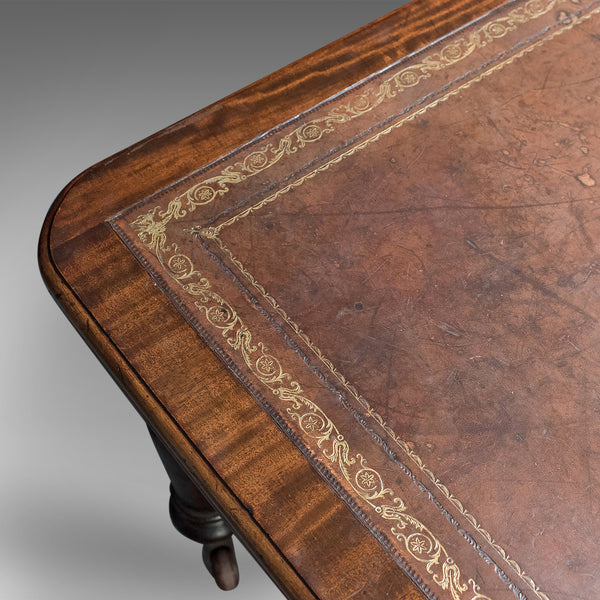 Very Large Antique Library Table, Mahogany, Victorian, Boardroom c.1870 - London Fine Antiques